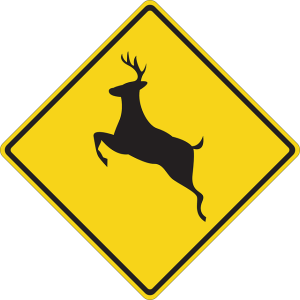deer sign