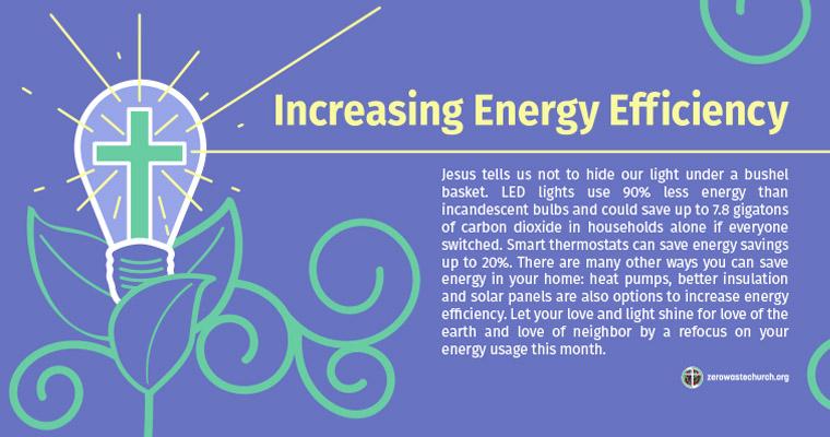 January- Increasing Energy Efficiency