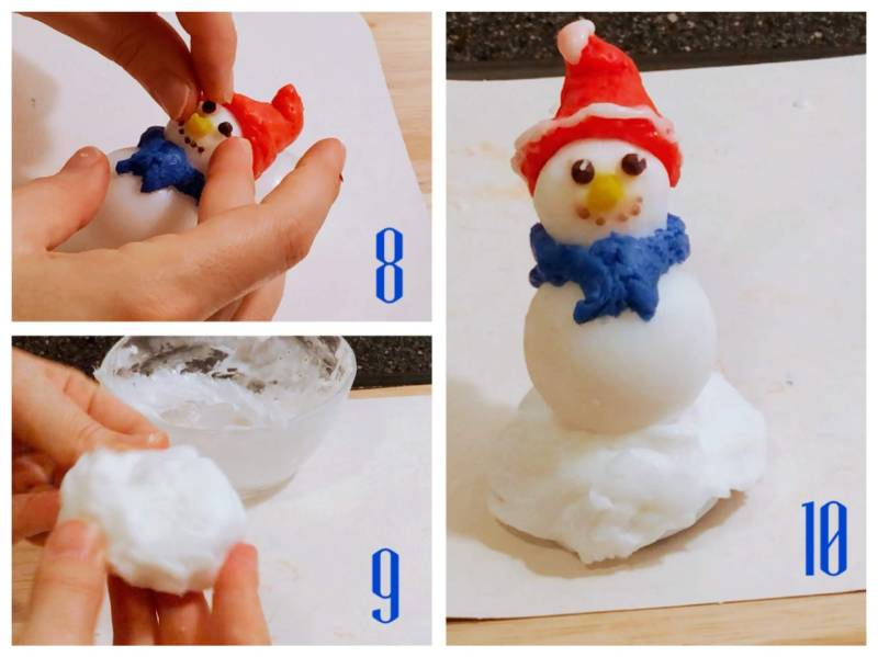soap snowman tutorial
