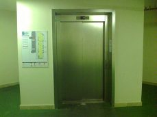 Dettaglio ascensore