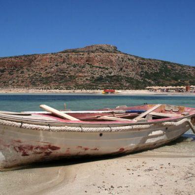 Sulla spiaggia di Balos