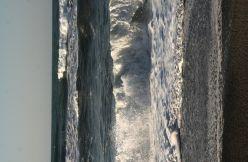 Le onde sollevate dal Meltemi