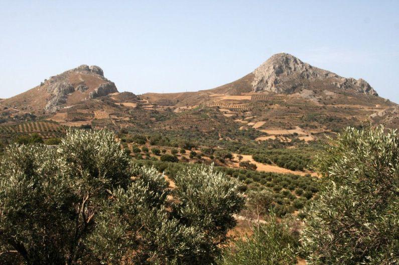 Creta, all'interno