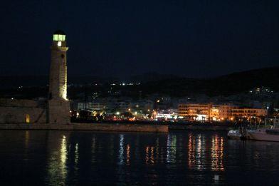 Porto di Rethymno by night