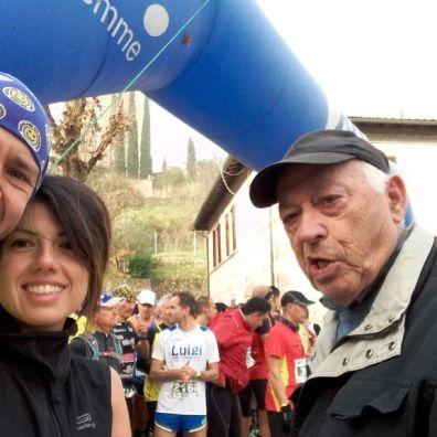 "Con Gherardo ""Nuto"" Nuti, presidente GS Aurora Siena"
