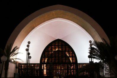 La chiesa evangelica tedesca a Playa del Ingles