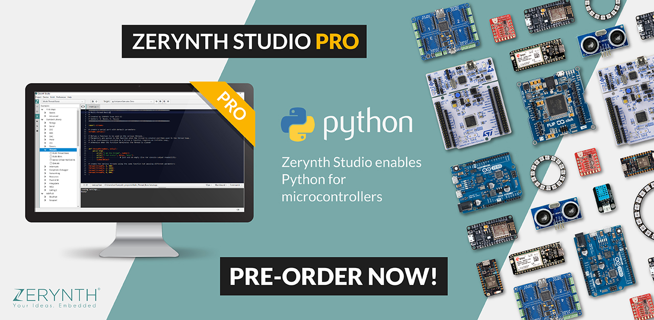 Announcing Zerynth 2.0: the Full Stack for IoT and Embedded Python Development