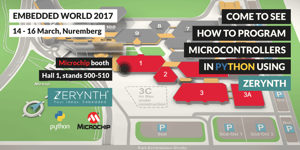 Meet Zerynth at Embedded World 2017