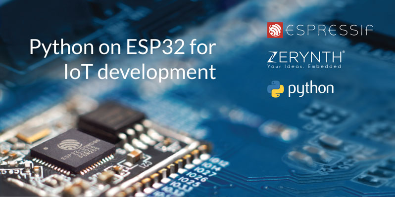 Zerynth is recommended by Espressif Systems as firmware toolkit for ESP32