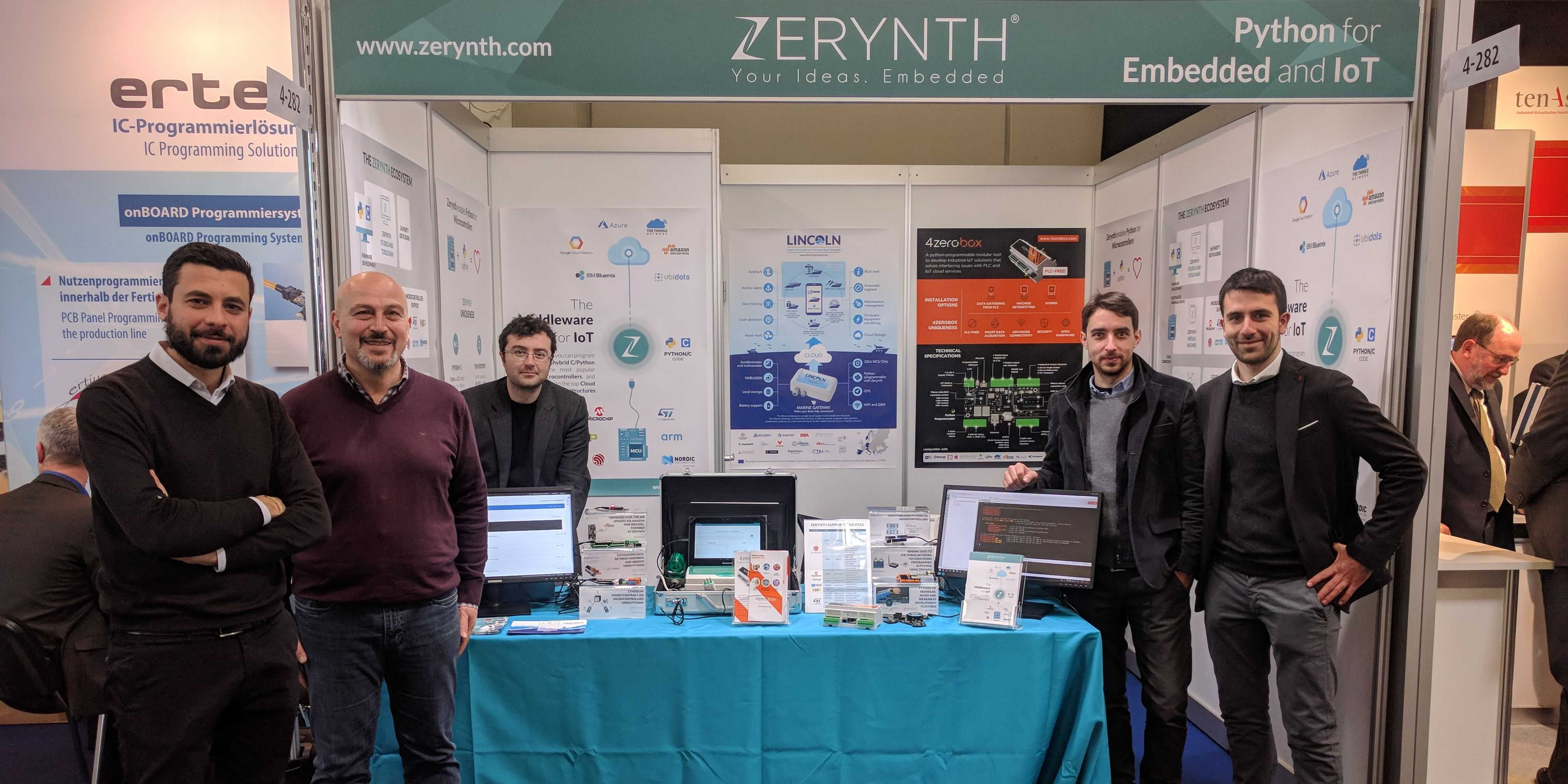 Day 3 at Embedded World with Zerynth. See you next year!
