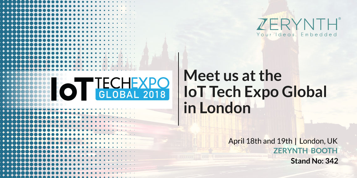 Meet Zerynth at IoT Tech Expo and learn about IoT, Microcontrollers and Blockchain