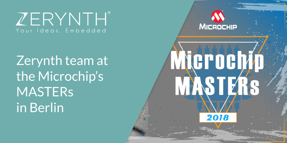 Zerynth team at the Microchip's MASTERs in Berlin