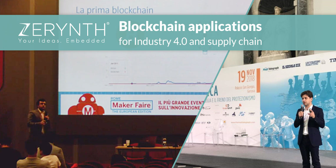 Blockchain applications for Industry 4.0 and supply chain