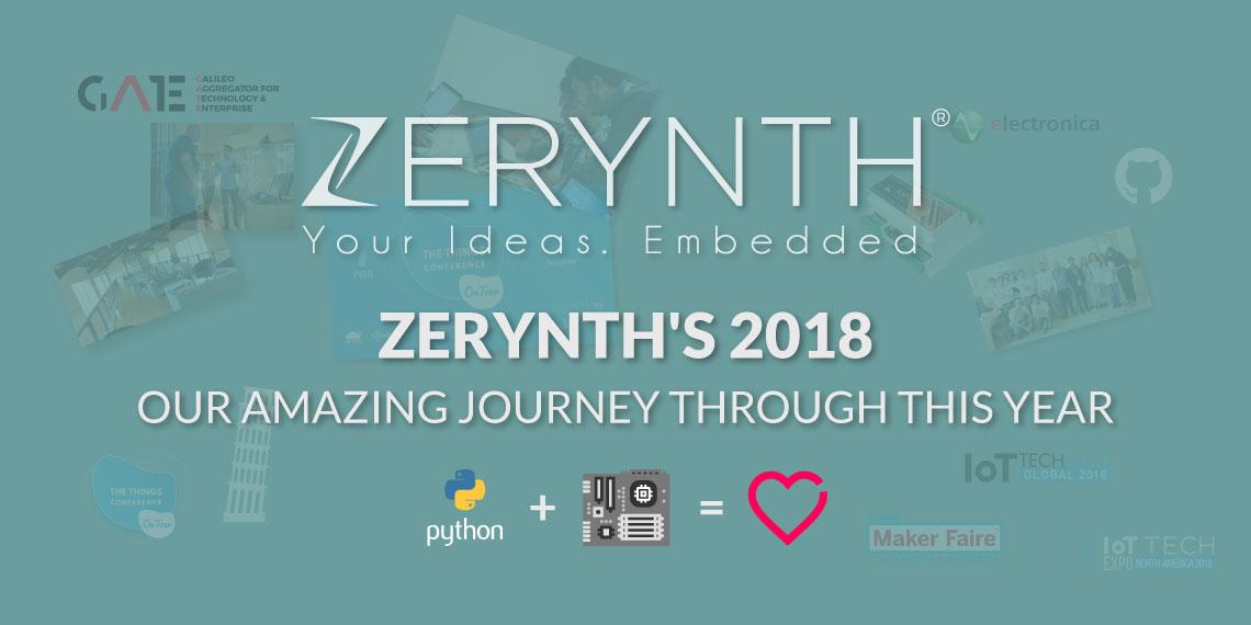 Zerynth's 2018 banner