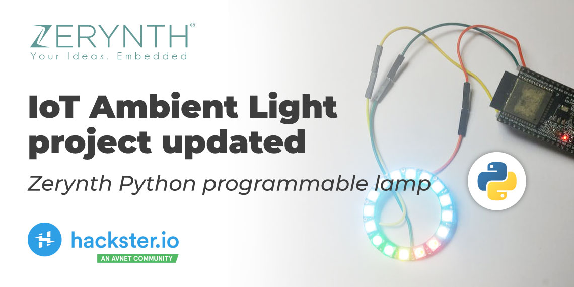 Zerynth ambient light tutorial post