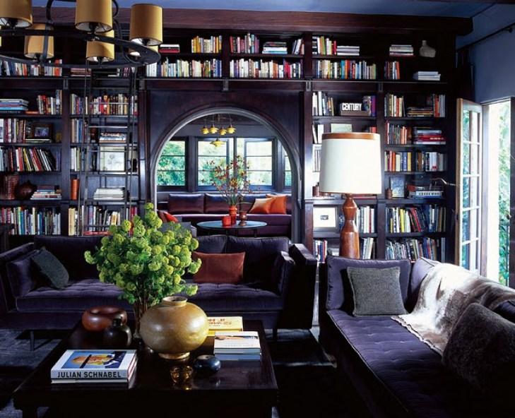 custom-home-library-design
