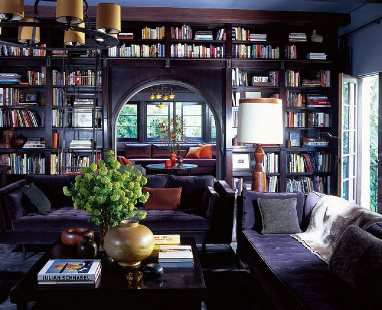 custom-home-library-design