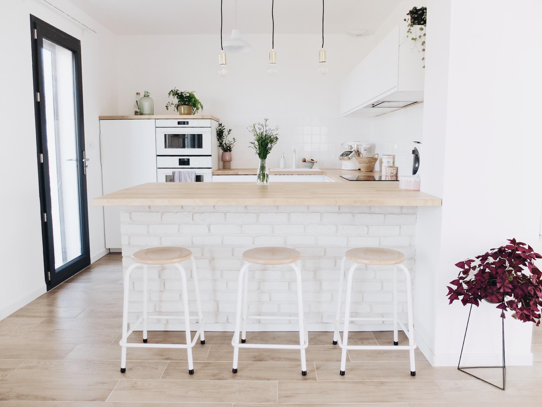 construction maison notre cuisine blanche et epuree avis ikea zess fr lifestyle deco diy crochet designer