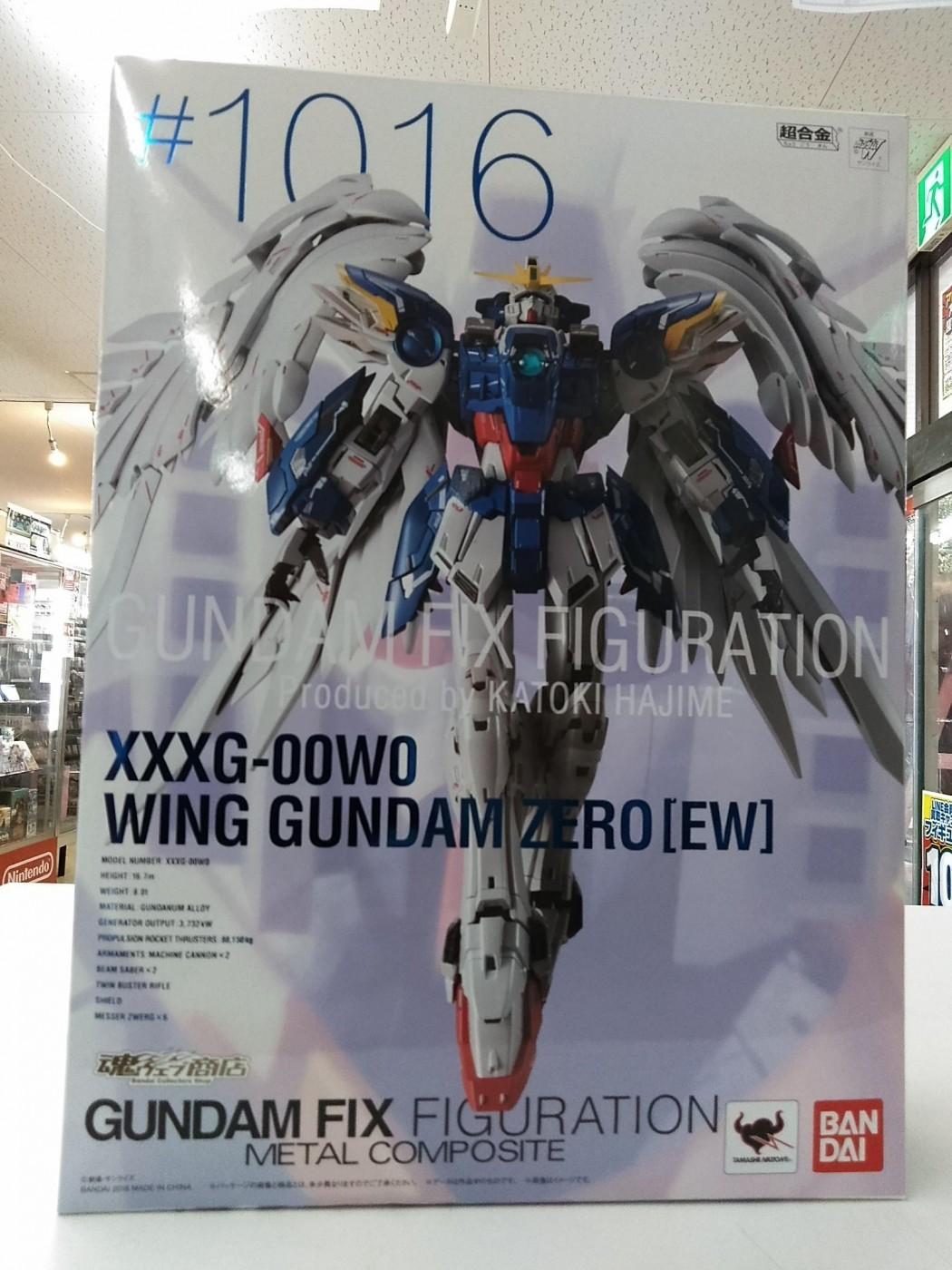 ゼスト所沢店の買取情報!!『バンダイのXXXG-00W0 ウイングガンダムゼロ(EW版) 「新機動戦記ガンダムW Endless Waltz」 GUNDAM FIX FIGURATION METAL COMPOSITE』