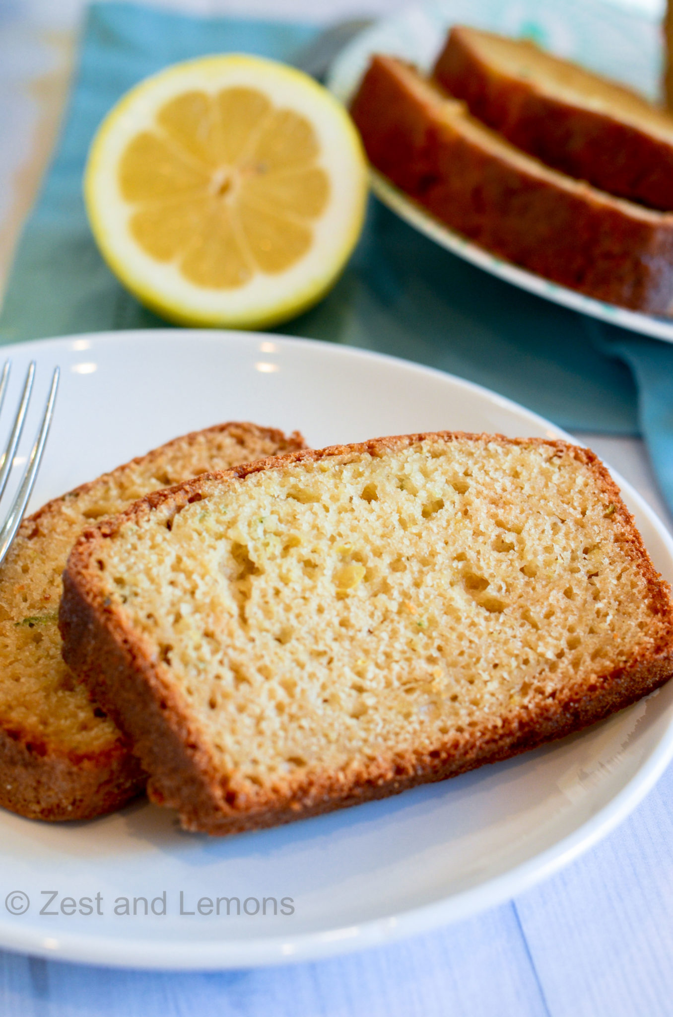 Gluten Free Lemon Zucchini Bread