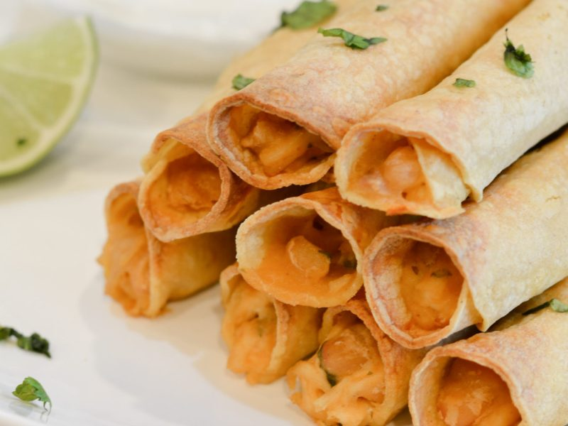Chicken and Cheese Taquitos