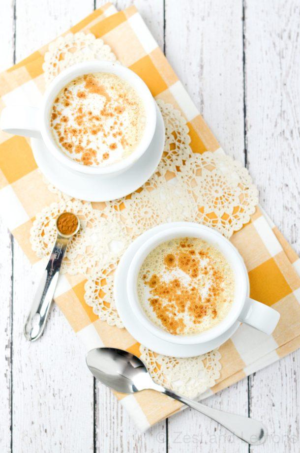 Pumpkin Chai Tea Latte, gluten free and easy to make!