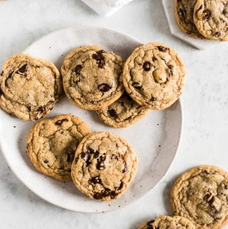 Gluten Free Brown Butter Chocolate Chip Cookies - Zest and Lemons
