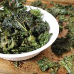 Easy & Spicy Kale Chips - these kale chips have a bit of heat and are perfectly crispy! This easy recipe is a wonderful low carb, healthy snack that is vegan too!