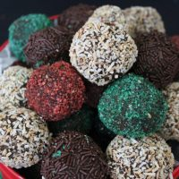 The Best Ever Rum Balls