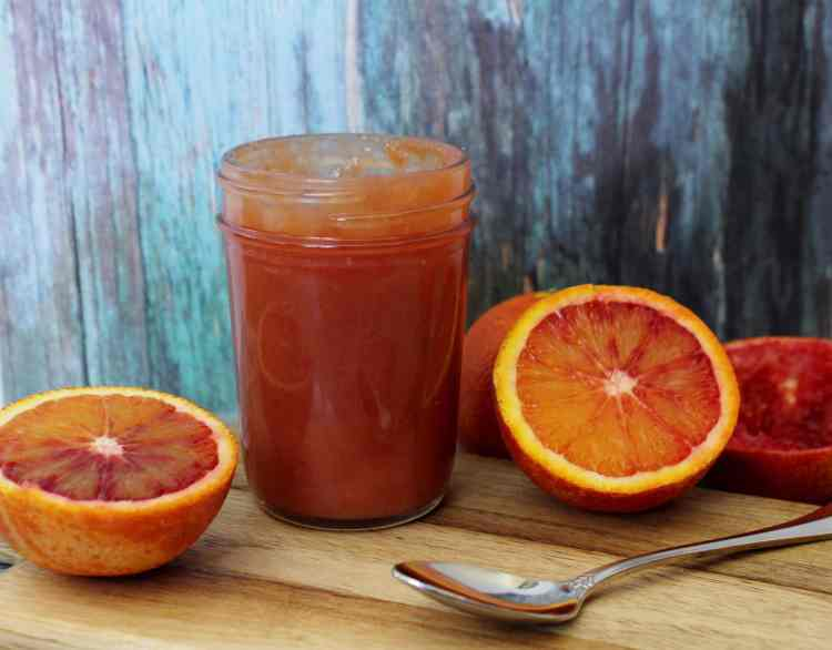 Blood Orange Curd - Sweet yet slightly tart, this is a beautiful citrus curd that will brighten up many treats! Use it as a filing for tarts, cakes or donuts, or spread some onto some toast or swirl into yogurt. It is even delicious eaten by the spoonful!
