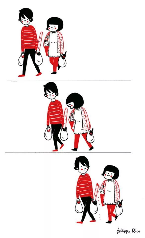 love is shopping together