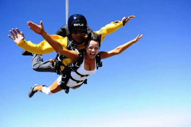 Skydiving with you partner in delhi