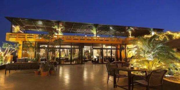 Thai High rooftop restaurant in delhi
