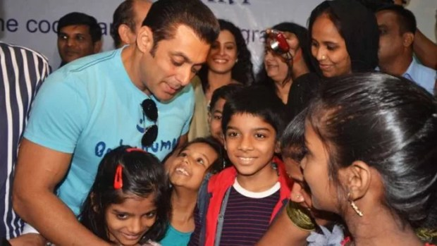 salman khan charity work