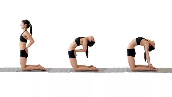Ustrasana or Camel pose - How To Increase Breast Size Naturally