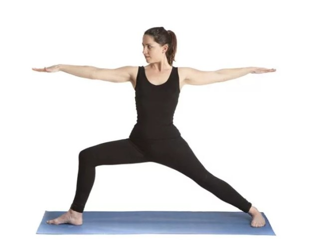 Virabhadrasana or Warrior Pose - How To Increase Breast Size Naturally
