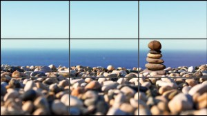Case Study: IICT. The merged picture with grid