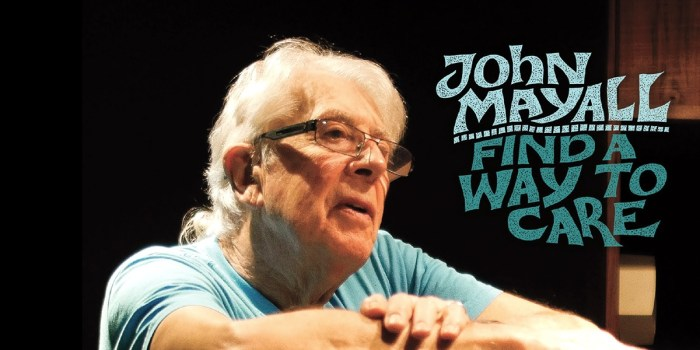 John Mayall - Find a way to care