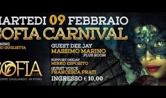 Sofia Club Fondi - Carnevale 2016