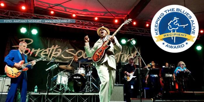 """Al Porretta Soul Festival il premio """"Keeping The Blues Alive"""""""