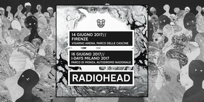 RadioHead - Concerti Italia 2017