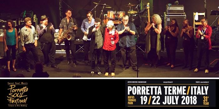 Porretta Soul Festival 2018, in corsa per il secondo trentennio