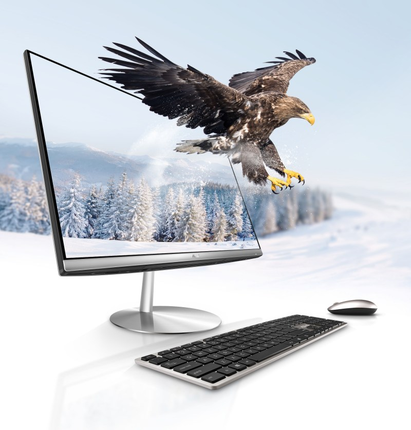 ASUS Zen AiO ZN242搭載第七代Intel Core i5四核心處理器,並內建電競等級的NVIDIA GeForce GTX1050顯示卡,使用者無時無刻均可坐享無與倫比的繪圖運算表現。