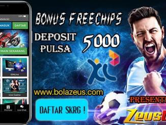 Bonus Freechip Terbaru 2019 Dari Zeusbola