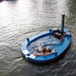 Hot Tub Jacuzzi Boat by Hot Tug
