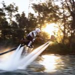 Star Wars – Speeder Bike Jetovator Battle in Real Life!