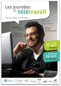 Plaquette Journées du télétravail dans la Loire