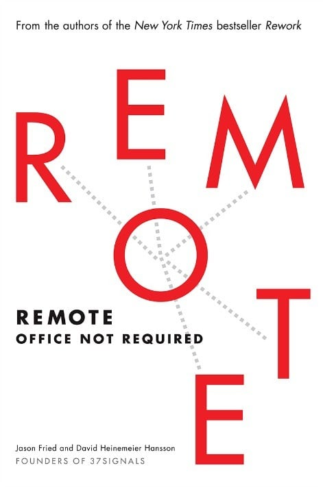 Couverture de Remote, Office not required