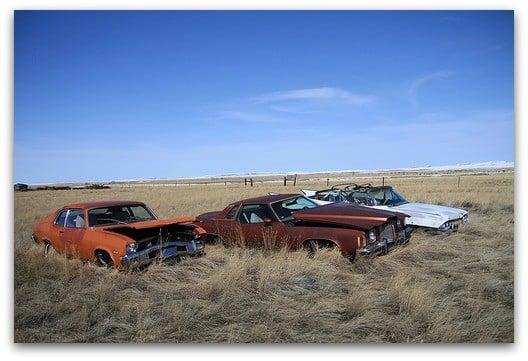 cimetiere voitures