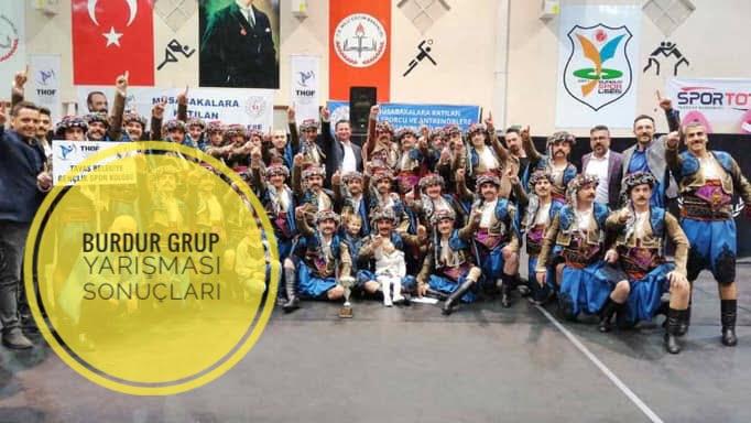 2019 THOF Burdur Grup Yarışması Sonuçları